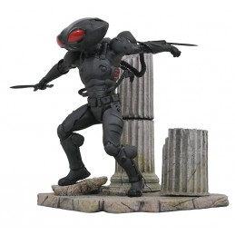 DC GALLERY AQUAMAN MOVIE - BLACK MANTA 25CM FIGURE STATUE DIAMOND SELECT