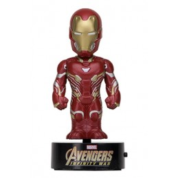 AVENGERS INFINITY WAR - IRON MAN BODY KNOCKER BOBBLE HEAD ACTION FIGURE NECA