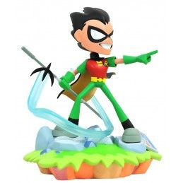 DC GALLERY TEEN TITANS GO ROBIN 20CM FIGURE STATUE DIAMOND SELECT