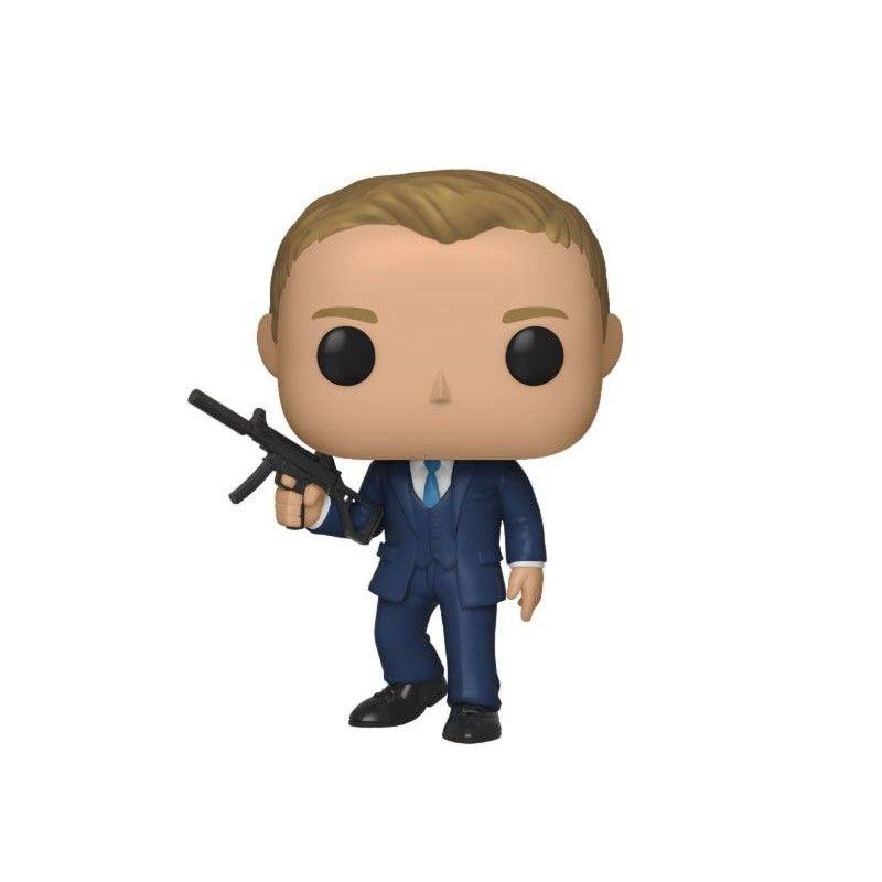 FUNKO FUNKO POP! 007 JAMES BOND QUANTUM OF SOLACE DANIEL CRAIG BOBBLE HEAD KNOCKER FIGURE