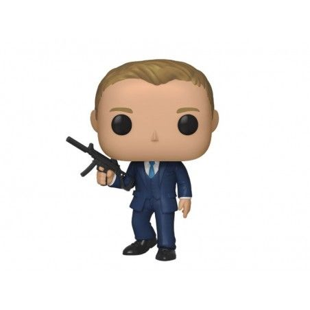 FUNKO POP! 007 JAMES BOND QUANTUM OF SOLACE DANIEL CRAIG BOBBLE HEAD KNOCKER FIGURE