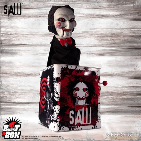 BURST A BOX SAW BILLY ACTION FIGURE REPLICA
