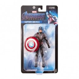 MARVEL LEGENDS SERIES AVENGERS ENDGAME - CAPTAIN AMERICA ACTION FIGURE HASBRO