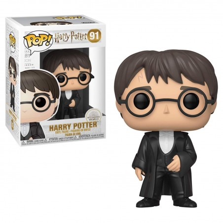 FUNKO POP! HARRY POTTER YULE BOBBLE HEAD KNOCKER FIGURE