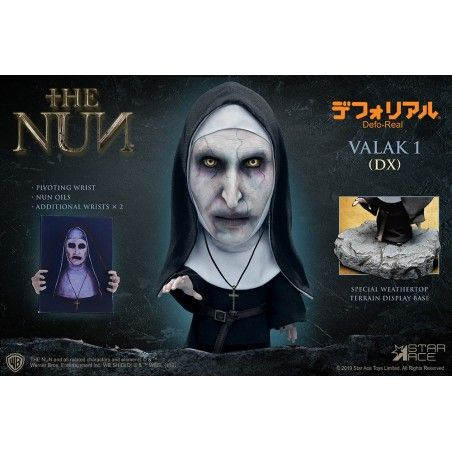 THE NUN VALAK 1 DELUXE DEFO-REAL STATUE FIGURE