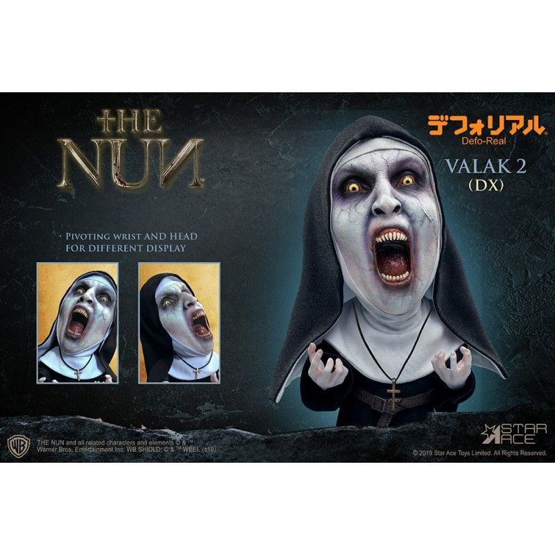 THE NUN VALAK 2 DELUXE DEFO-REAL STATUE FIGURE STAR ACE