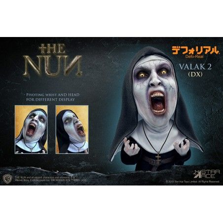 THE NUN VALAK 2 DELUXE DEFO-REAL STATUE FIGURE
