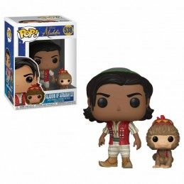 FUNKO POP! ALADDIN AND ABU BOBBLE HEAD KNOCKER FIGURE FUNKO