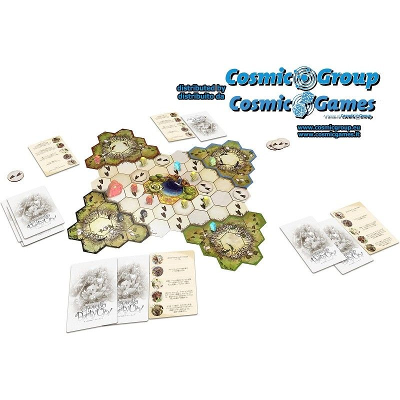 SQUARE ENIX CHOCOBO PARTY UP THE BOARD GAME GIOCO DA TAVOLO