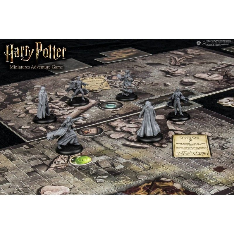 HARRY POTTER MINIATURE ADVENTURE GAME GIOCO DA TAVOLO ITALIANO KNIGHT MODELS