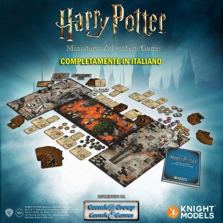 HARRY POTTER MINIATURE ADVENTURE GAME GIOCO DA TAVOLO ITALIANO