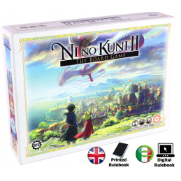 NI NO KUNI II - THE BOARD GAME GIOCO DA TAVOLO STEAMFORGED GAMES
