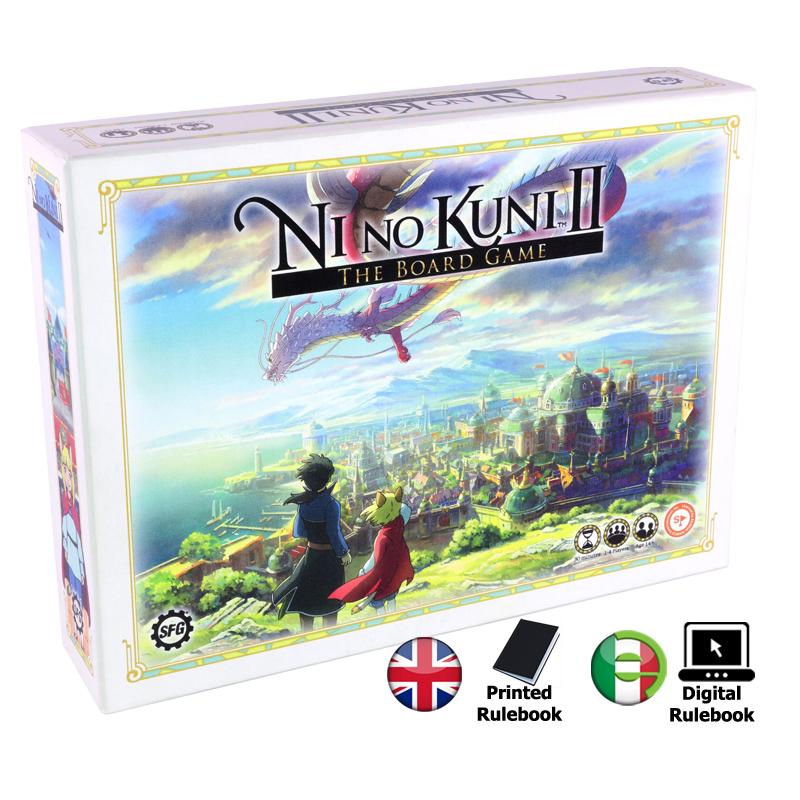 NI NO KUNI II - THE BOARD GAME GIOCO DA TAVOLO STEAMFORGED GAMES
