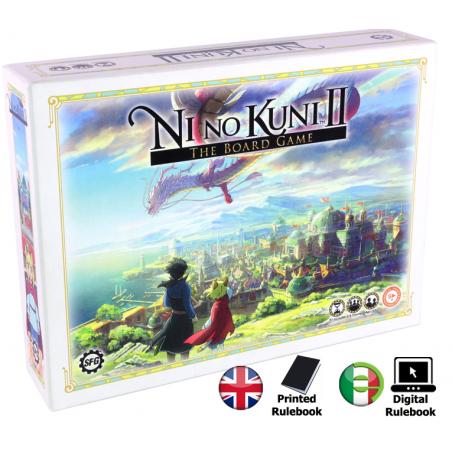 NI NO KUNI II - THE BOARD GAME GIOCO DA TAVOLO
