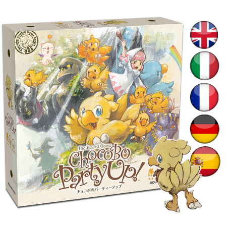 CHOCOBO PARTY UP THE BOARD GAME GIOCO DA TAVOLO