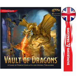 VAULT OF DRAGONS BOARD GAME...