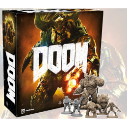 DOOM BOARD GAME SECONDA...