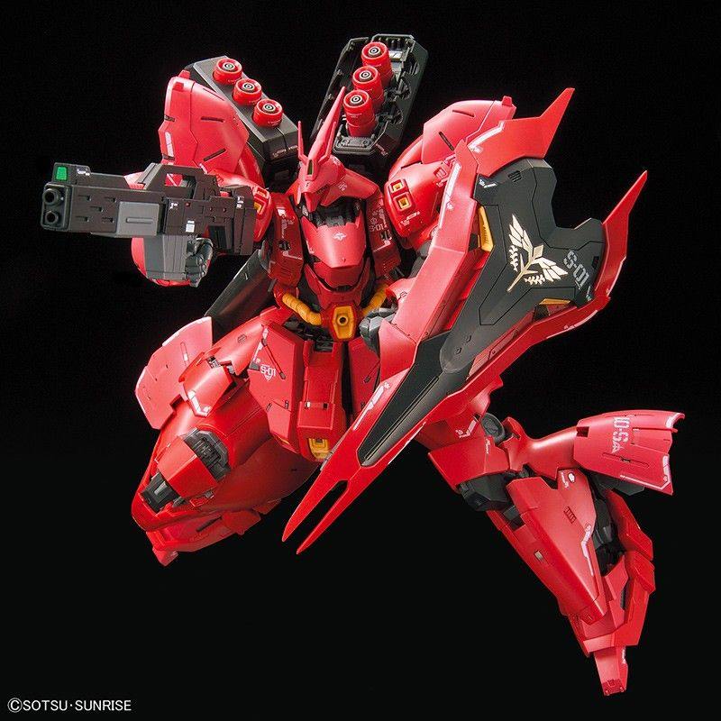RG REAL GRADE GUNDAM MSN-04 SAZABI 1/144 MODEL KIT ACTION FIGURE BANDAI