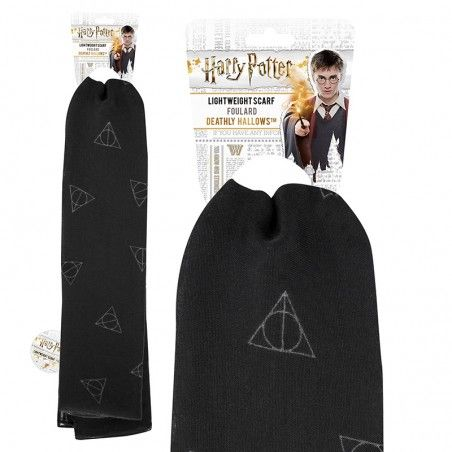 HARRY POTTER DEATHLY HALLOWS SCARF SCIARPA FOULARD