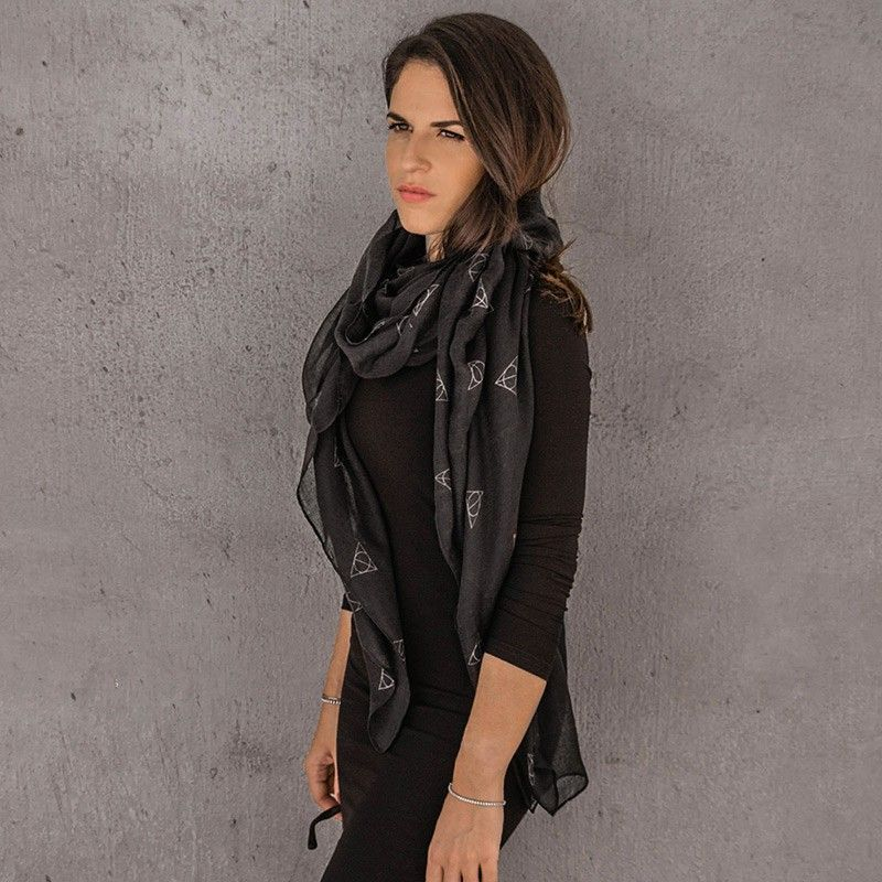 CINEREPLICAS HARRY POTTER DEATHLY HALLOWS SCARF SCIARPA FOULARD