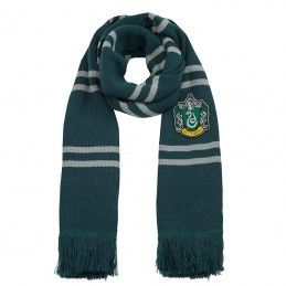 CINEREPLICAS HARRY POTTER SLYTHERIN SERPEVERDE DELUXE SCARF SCIARPA