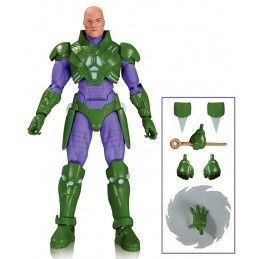 DC COLLECTIBLES DC COMICS ICONS - LEX LUTHOR FOREVER EVIL ACTION FIGURE
