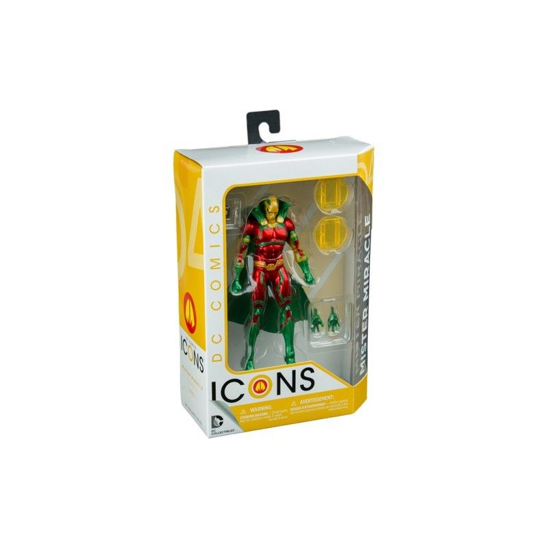 DC COLLECTIBLES DC COMICS ICONS - MISTER MIRACLE EARTH 2 ACTION FIGURE