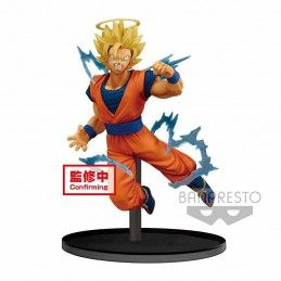 BANPRESTO DRAGON BALL Z DOKKAN BATTLE SUPER SAIYAN 2 GOKU ANGEL 15CM STATUE FIGURE