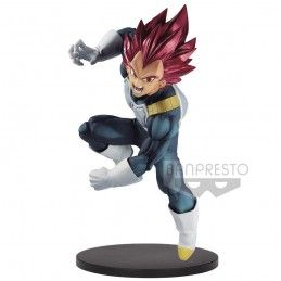 DRAGON BALL SUPER BLOOD OF SAIYAN - SUPER SAIYAN GOD VEGETA 15CM STATUE FIGURE BANPRESTO