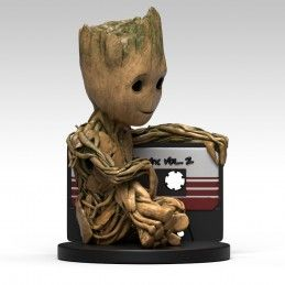 SEMIC GUARDIANS OF THE GALAXY VOL.2 BABY GROOT BANK FIGURE