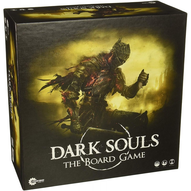 STEAMFORGED GAMES DARK SOULS THE BOARD GAME 2A EDIZIONE GIOCO DA TAVOLO ITALIANO