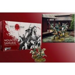 TEST OF HONOUR THE SAMURAI MINIATURE GAME - MOUNTED SAMURAI FIGURE WARLORD GAMES