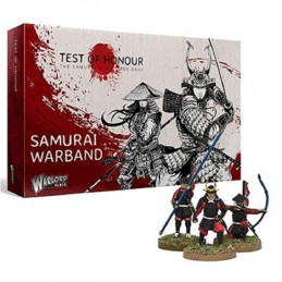 WARLORD GAMES TEST OF HONOUR THE SAMURAI MINIATURE GAME - SAMURAI WARBAND FIGURE