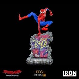SPIDER-MAN INTO THE SPIDER-VERSE - SPIDER-MAN 1/10 RESIN STATUE FIGURE IRON STUDIOS