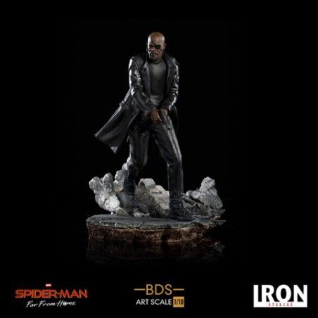 SPIDER-MAN FAR FROM HOME NICK FURY 1/10 RESIN STATUE FIGURE