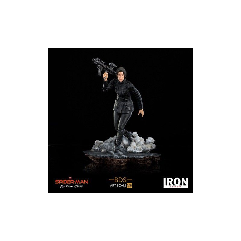 SPIDER-MAN FAR FROM HOME MARIA HILL 1/10 RESIN STATUE FIGURE IRON STUDIOS