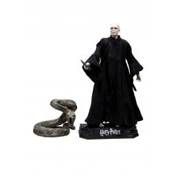 HARRY POTTER DEATHLY HALLOWS PART 2 LORD VOLDEMORT ACTION FIGURE MC FARLANE