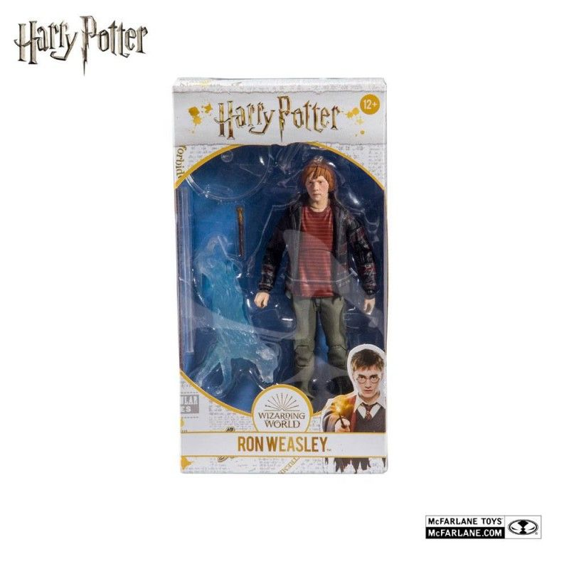 HARRY POTTER DEATHLY HALLOWS PART 2 RON WEASLEY ACTION FIGURE MC FARLANE