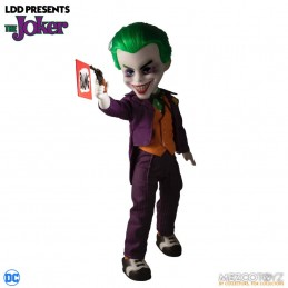 MEZCO TOYS LIVING DEAD DOLLS LDD THE JOKER ACTION FIGURE