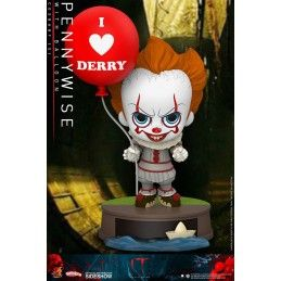 HOT TOYS IT CHAPTER 2 - PENNYWISE WITH BALLOON COSBABY MINI FIGURE