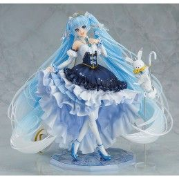 SNOW MIKU SNOW PRINCESS VERSION STATUE GOOD SMILE COMPANY