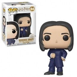 FUNKO POP! HARRY POTTER - SEVERUS SNAPE YULE BOBBLE HEAD KNOCKER FIGURE FUNKO