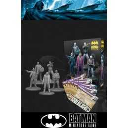 BATMAN MINIATURE GAME - THE JOKER WHY SO SERIOUS MINI RESIN STATUE FIGURE KNIGHT MODELS