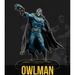 BATMAN MINIATURE GAME - OWLMAN MINI RESIN STATUE FIGURE KNIGHT MODELS