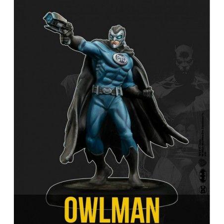 BATMAN MINIATURE GAME - OWLMAN MINI RESIN STATUE FIGURE