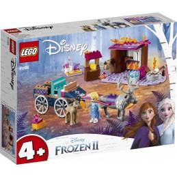 LEGO PRINCESS LEGO FROZEN 2 AVVENTURA SUL CARRO ELSA 41166