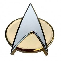 STAR TREK COMMUNICATOR BADGE BOTTLE OPENER REPLICA APRIBOTTIGLIE FACTORY ENTERTAINMENT