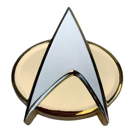 STAR TREK COMMUNICATOR BADGE BOTTLE OPENER REPLICA APRIBOTTIGLIE