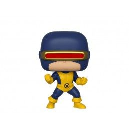 FUNKO POP! MARVEL 80 YEARS - CYCLOPS FIRST APPEARANCE BOBBLE HEAD KNOCKER FIGURE FUNKO