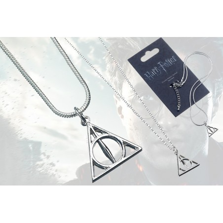 HARRY POTTER DEATHLY HALLOWS NECKLACE CIONDOLO LETTERA